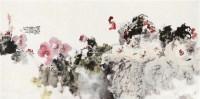 富贵吉祥 画心 设色纸本 - 骆孝敏 - 中国书画(二) - 2011秋季拍卖会 -收藏网