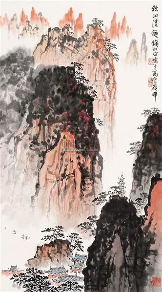 山水 立轴 纸本 -  - 中国书画 - 2011春季艺术品拍卖会 -中国收藏网