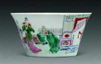 粉彩人物杯 -  - 瓷器 杂项 - 2011春季拍卖会 -收藏网