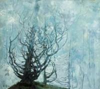 朗月 布面 油画 - 王路 - 中国现当代艺术 - 2007迎春拍卖会 -收藏网