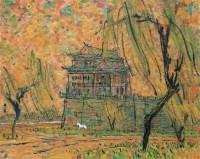 秋光 布面油彩 - 李秀实 - 中国油画(二) - 2006年中国艺术品春季拍卖会 -收藏网