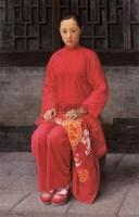 于桂元  新娘 -  - 中国当代油画 - 鹏盛金辉中外油画专场 -收藏网