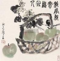 花盛 镜心 - 韩秋岩 - 中国书画 - 第66期中国书画拍卖会 -收藏网