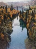 王路、那边有个湖 - 王路 - 中国油画专场 - 2006秋季艺术品拍卖会 -收藏网