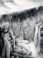 张谷旻 山水 - 4247 - 中国书画 - 浙江方圆2010秋季书画拍卖会 -收藏网