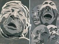 方力钧   2002.11.11/2002.12.19 (两张一组) - 153219 - 中国当代艺术(二) - 2007春季拍卖会 -收藏网