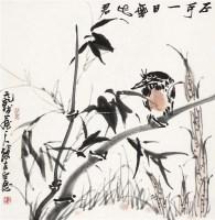 不可一日无此君 镜心 设色纸本 - 118537 - 中国书画 - 2011首场艺术品秋季拍卖会 -收藏网