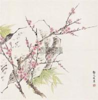 梅花 镜心 设色纸本 - 龚文桢 - 中国书画(二) - 2006年秋季拍卖会 -收藏网