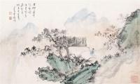 山水 镜心 设色纸本 - 溥儒 - 中国书画、西画 - 2011季度拍卖会第二期 -中国收藏网