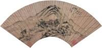 山水 扇面 纸本 -  - 中国书画 - 2011秋季拍卖会 -收藏网