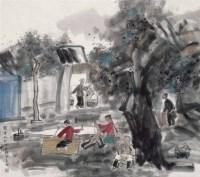 张立柱   关中人 - 张立柱 - 当代中国书画 - 2007季春第57期拍卖会 -收藏网
