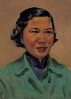1952年 肖像 布面 油画 - 秦宣夫 - 中国油画及雕塑 - 2006秋季拍卖会 -收藏网