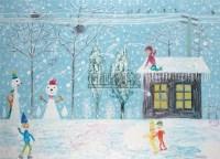 冬天NO.3 布面 油画 - 欧阳春 - 油画专场 - 2008春季艺术品拍卖会 -收藏网