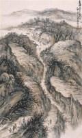 赵望云 山水人物 立轴 设色纸本 - 21149 - 中国书画(一) - 2006畅月(55期)拍卖会 -收藏网