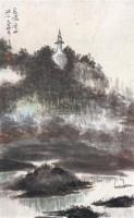 瘦西湖 镜心 设色纸本 - 116682 - 近现代书画 - 2007秋季中国书画名家精品拍卖会 -中国收藏网