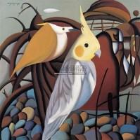 天籁之音 布面 油画 - 140579 - 名家西画 当代艺术专场 - 2008年秋季艺术品拍卖会 -收藏网