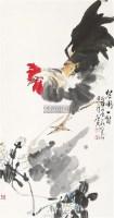 公鸡 立轴 纸本 - 127658 - 中国书画 - 2011中国书画精品拍卖会 -收藏网
