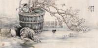 春嬉图 镜心 设色纸本 - 吴伯年 - 中国书画(二) - 2006秋季文物竞买会 -收藏网