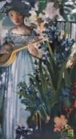 夏俊娜 如歌的岁月 布面油画 - 夏俊娜 - 中国油画 - 2006秋季艺术品拍卖会 -收藏网