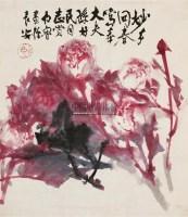 灼灼其华 镜片 设色纸本 - 119140 - 中国书画(一) - 2011春季艺术品拍卖会 -收藏网