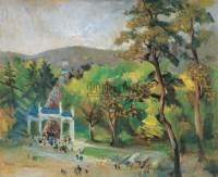 中山陵 布面油画 - 22533 - 中国油画 - 2005秋季大型艺术品拍卖会 -收藏网