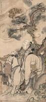 福禄寿 立轴 设色纸本 -  - 书画专场(下) - 2005秋季书画专场拍卖会 -收藏网