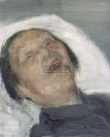 何多苓 母亲 布面油画 - 何多苓 - 中国油画 - 2006秋季艺术品拍卖会 -收藏网