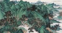 山居图 镜心 设色纸本 - 刘彦水 - 中国书画 - 2006广州冬季拍卖会 -收藏网