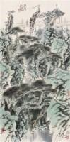 叠翠图 立轴 设色纸本 - 孙君良 - 中国当代水墨 - 2006秋季拍卖会 -收藏网