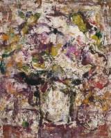 孔柏基   瓶花 - 139822 - 油画 - 2007季春第57期拍卖会 -收藏网
