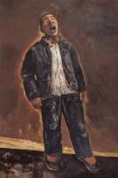 歌唱者 布面油彩 - 段正渠 - 中国油画及雕塑 - 2006年春季拍卖会 -收藏网