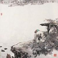 秋江图 镜心 设色纸本 - 胡正伟 - 中国书画 - 2006秋季拍卖会 -收藏网