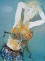 少女 布面 油画 - 19442 - 名家西画 当代艺术专场 - 2008年春季拍卖会 -中国收藏网