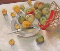 静物 布面 油画 - 费以复 - 中国油画 - 2006秋季大型艺术品拍卖会 -收藏网