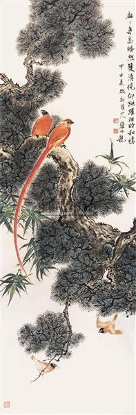 花鸟 立轴 - 148782 - 中国书画 - 2011年春季艺术品拍卖会 -收藏网