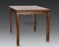 红木方桌 -  - 明清古典家具 - 2006年秋季大型明清古典家具专场拍卖会 -中国收藏网