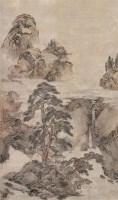 云山闲居图 立轴 设色纸本 - 6639 - 中国古代书画 - 2006秋季拍卖会 -收藏网