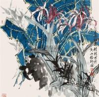 兰香四溢 镜心 设色纸本 - 葛桂林 - 中国书画(二) - 翰海四季(第73期)拍卖会 -收藏网