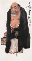 □鸟图 镜心 设色纸本 - 周之林 - 中国书画 古籍碑帖 - 2007春季艺术品拍卖会 -收藏网
