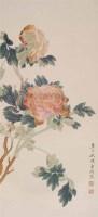 陈东湖 花卉 立轴 设色纸本 - 149439 - 中国书画(一) - 2006畅月(55期)拍卖会 -收藏网