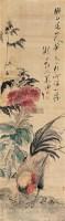 姜渔 花鸟 立轴 绢本 - 139992 - 中国书画(一) - 2006年第4期嘉德四季拍卖会 -收藏网