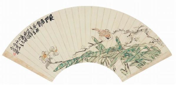 吳昌碩花鳥 -  - 现当代书画名家专场 - 2008秋季艺术品拍卖会 -收藏网