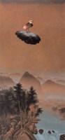高惠君 2005年作 暮色观天图 布面 油画 - 高惠君 - 中国当代油画 - 2006首届中国国际艺术品投资与收藏博览会暨专场拍卖会 -收藏网