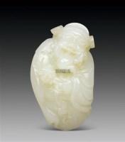 籽料财神 -  - 中国玉器杂项专场 - 2011首届秋季拍卖会 -收藏网