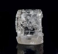 水晶笔筒 -  - 中国瓷器工艺品 - 2009秋季拍卖会(一) -收藏网