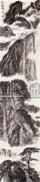 山水 镜心 水墨纸本 - 张仃 - 中国书画 油画 - 2008年中国书画油画拍卖会 -收藏网