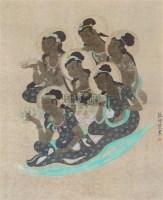 敦煌壁画 镜片 - 126853 - 中国书画 - 2011年首屇艺术品拍卖会 -收藏网