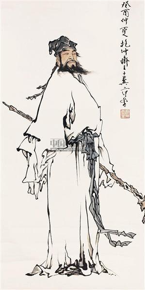 人物 立轴 - 119562 - 中国书画 - 2011年春季艺术品拍卖会 -收藏网