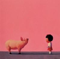 温柔地杀我 布面 油画 - 刘野 - 中国当代艺术 - 2006秋季拍卖会 -收藏网
