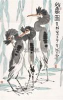 初霁图 镜心 纸本设色 - 10409 - 中国书画(二) - 2011春季艺术品拍卖会 -收藏网